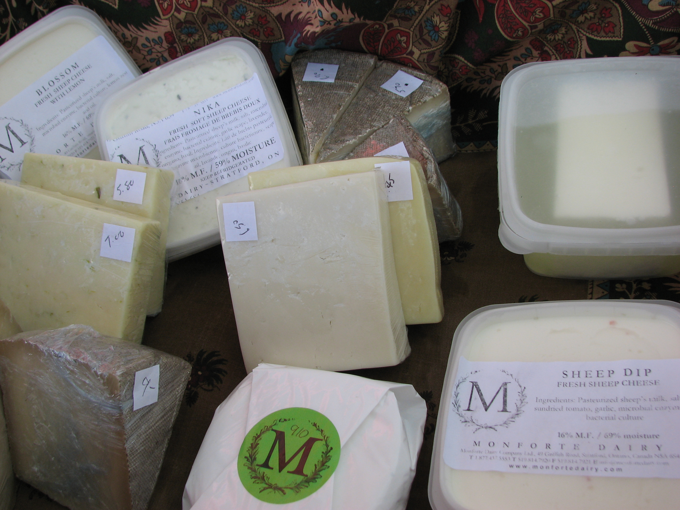 monforte dairy individual write Monforte dairy is southwestern ontario's premier artisanal cheese company, owned and operated by stratford chefs school instructor and chef ruth klahsen.